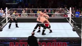getlinkyoutube.com-WWE Championship Brock Lesnar vs Seth Rollins: WWE Battleground 2015 Full Match!