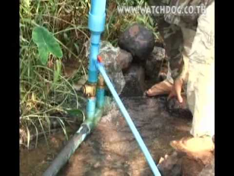 ตะบันน้ำ : ปั๊มน้ำชาวบ้าน