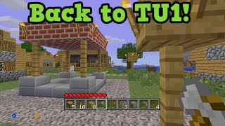 getlinkyoutube.com-Minecraft TU1 Tutorial Play OLD Biomes, Crafting, Glitches