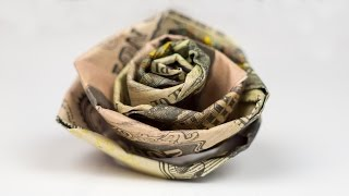 getlinkyoutube.com-Money Gift Wedding Rose - Cash Crafting Tutorial