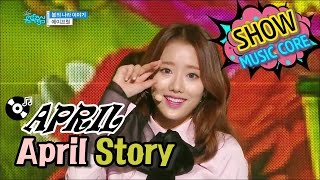 getlinkyoutube.com-[Comeback Stage] APRIL - April Story, 에이프릴 - 봄의 나라 이야기 Show Music core 20170107