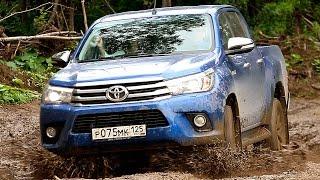 getlinkyoutube.com-Toyota Hilux 2016 - Offroad на Сахалине! via ATDrive