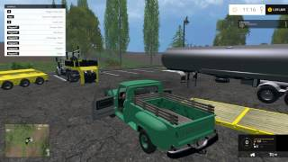 getlinkyoutube.com-Kenworth Heavy Haul, 1966 Chevy C10, Dodge Cummins and More! | Farming Simulator 15 Mod Showcase