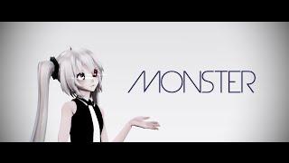 getlinkyoutube.com-【MMD】Monster