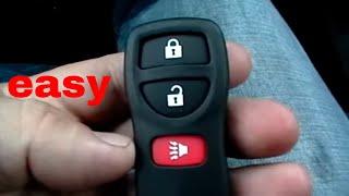 getlinkyoutube.com-How to program the Keyless Entry Remote for Nissan Versa