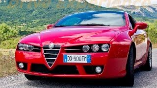 getlinkyoutube.com-Alfa Romeo Brera 1750 Tbi - Davide Cironi Drive Experience (ENG.SUBS)