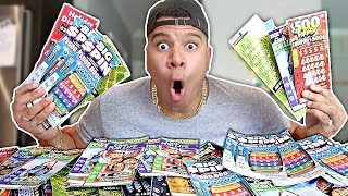 EXPERIMENT $10000 LOTTERY TICKET CHALLENGE (WON THE MEGA JACKPOT)