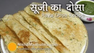 getlinkyoutube.com-Instant Rava dosa Recipe - Crispy Sooji dosa or Semolina Dosa Recipe