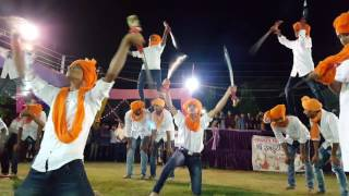 getlinkyoutube.com-Rajputana Roar - Sword show with pyramid style by rajput boys - Bharuch