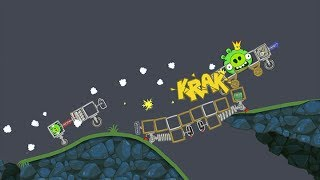 Bad Piggies Bridge Over the River Pork!
