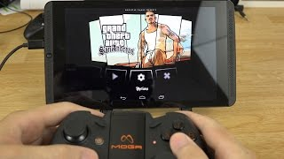 getlinkyoutube.com-Playing Grand Theft Auto: San Andreas on my NVIDIA Shield Tablet with a MOGA Pro Controller!
