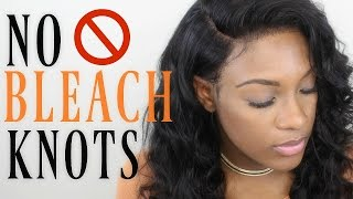 getlinkyoutube.com-NO BLEACHED KNOTS | Slay your lace frontal without using bleach! Omgqueen