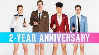 flushyoutube.com-The Try Guys React To Their First Videos • 2-Year Anniversary