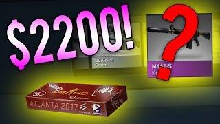 getlinkyoutube.com-THE 100 COBBLESTONE CASE UNBOXING! ($2200+ CS:GO Opening)