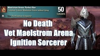 No Death Veteran Maelstrom Arena [Flawless Conqueror Achievement]