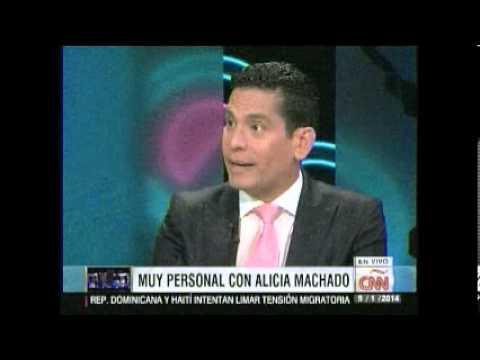 Alicia Machado llora por Venezuela en Cala
