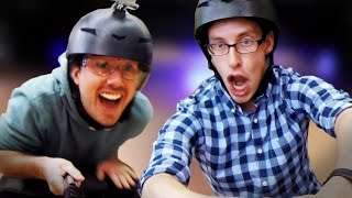 Dudes Try A Real Hoverboard