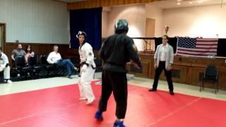 Tang Soo Do Tournament Sparring - Master Matthew DiGiacomo