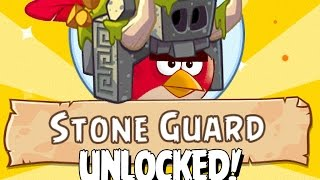 getlinkyoutube.com-Stone Guard Class UNLOCKED! Angry Birds Epic Into the Jungle Event Gameplay First Look