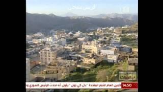 زيارة القناة الاولى لمحافظة المندق قريش سيحان رقم 1