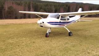getlinkyoutube.com-TL-3000 Sirius. First Flight- Fuel injection by EdgePerformance Norway