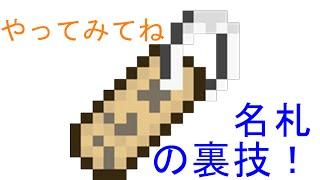 getlinkyoutube.com-【マインクラフト 裏ワザ】『名札』でmobを逆さまにできる!