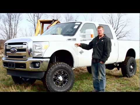 Ford F250 Super Duty Zone Lift Kit