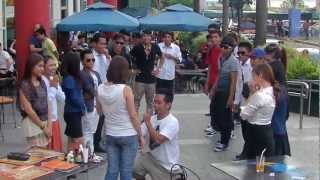 getlinkyoutube.com-WEDDING PROPOSAL BY LPP MOB DANCERS