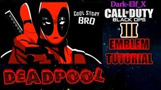 getlinkyoutube.com-Black Ops 3 Emblem - Deadpool
