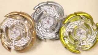 getlinkyoutube.com-Gold/Silver/Bronze Galaxy Pegasus W105R2F WBBA ROUNDUP Unboxing/Review! - Beyblade Metal Fight