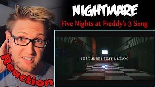 getlinkyoutube.com-Nightmare (Five Nights at Freddy's 3 Song) by NateWantsToBattle REACTION! | THE KIDS! |