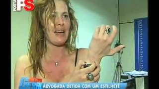 getlinkyoutube.com-Advogada bêbada bate na cara do policial