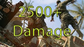 getlinkyoutube.com-Dying Light - 2500+ Damage Katana Tutorial ( Best Weapon Max Damage In Dying Light)