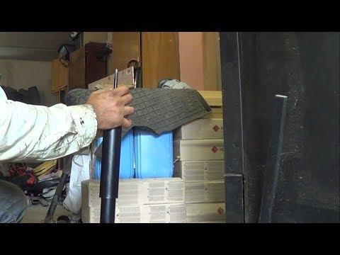 Замена задних амортизаторов и их прокачка Absorber
