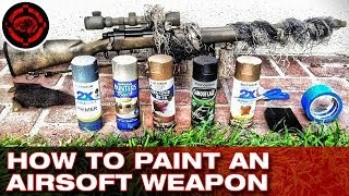 getlinkyoutube.com-How to Paint an Airsoft Weapon