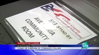 Como se prepara el Condado Collier para las elecciones presidenciales