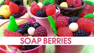 getlinkyoutube.com-DIY Soap berries - How to make soap embeds - Soap making