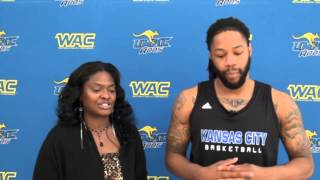 Interview with UMKC Forward Reese Holliday