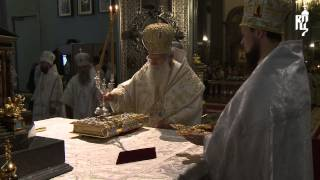 Предстоятели Русской и Болгарской Церквей совершили Литургию в Казанском соборе Санкт-Петербурга