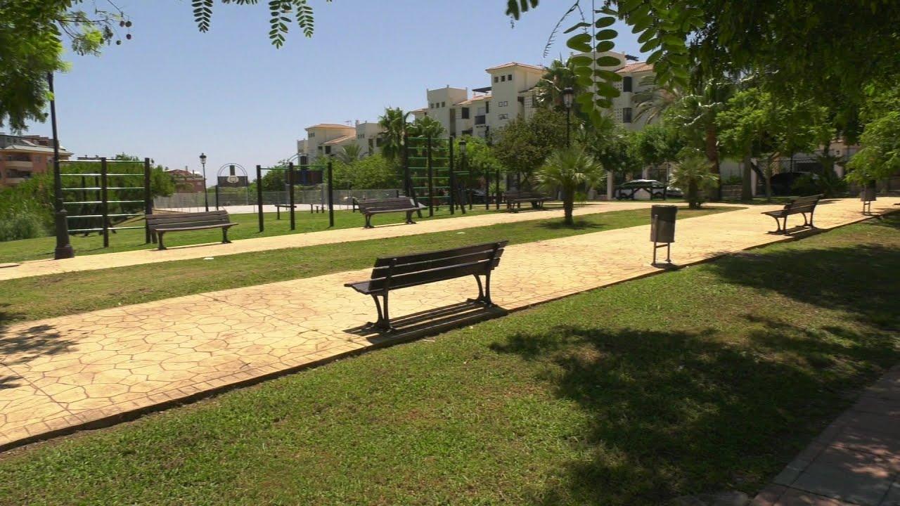 Mejoras en el parque de barras de la zona alta de Boskipark