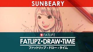 getlinkyoutube.com-Fatlipz Draw Time : วาดรูป ซาน Sunbeary !!