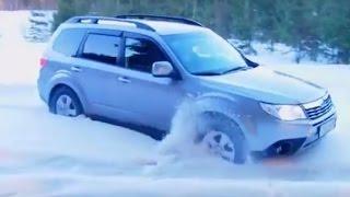 getlinkyoutube.com-Subaru Forester Off road 4x4 Test Mud Snow Fails Hill Climb