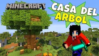 getlinkyoutube.com-Minecraft: Casa del Árbol (Tree House) Super Tutorial