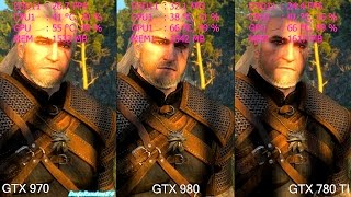getlinkyoutube.com-The Witcher 3 Wild Hunt GTX 980 Vs GTX 970 Vs GTX 780 TI Frame Rate Comparison