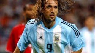 """Gabriel Batistuta """"Batigol"""": All 56 Goals For Argentina - Los 56 Goles por Argentina"""