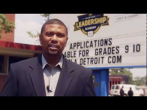 Jalen Rose Leadership Academy | Charter high school in Detroit