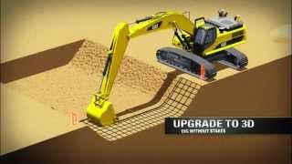 getlinkyoutube.com-Cat® Grade Control for Hydraulic Excavators: Overview