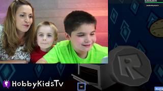 getlinkyoutube.com-Hello Neighbor ROBLOX! Video Game Play + Creepy Real Life Neighbor Surprise HobbyKidsTV