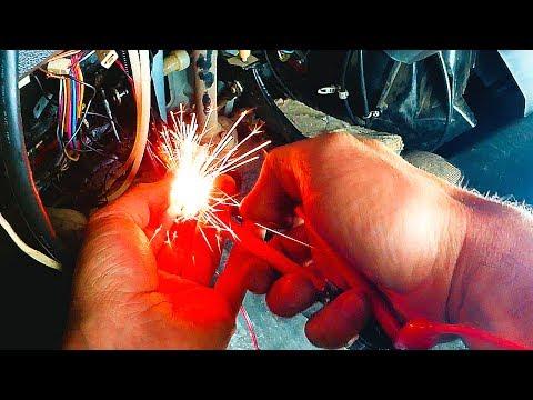 ВАЗ 2109 Не работает центральный замок. Ремонт проводки.