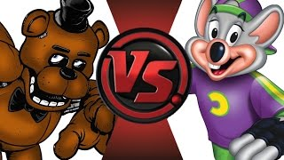 getlinkyoutube.com-FREDDY FAZBEAR vs CHUCK E CHEESE! Cartoon Fight Club Episode 22